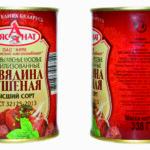 Белорусская тушёнка
